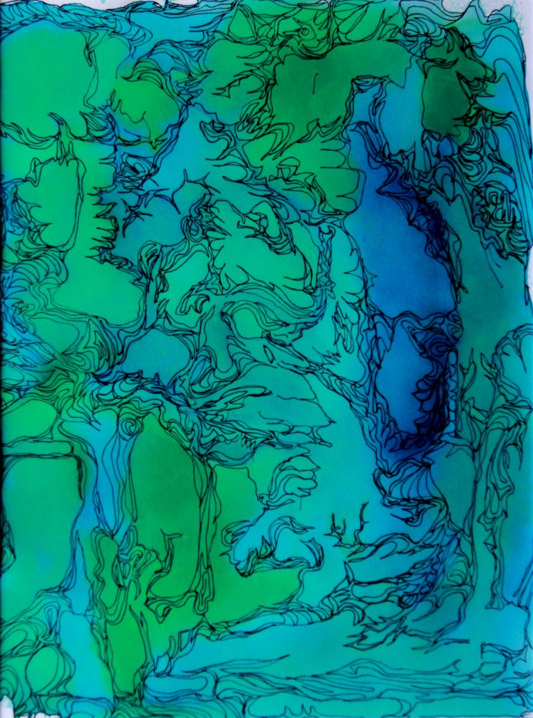 Nouveau monde - Peinture - Isabelle Milléquant Surr