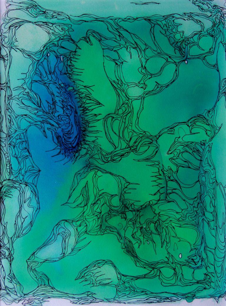 Traces - Peinture - Isabelle Milléquant Surr