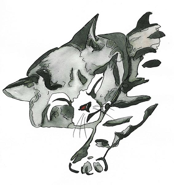Chats malins chats câlins - Illustration - Isabelle Milléquant Surr