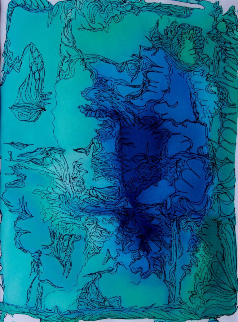 Paysages d'ailleurs - Peinture - Isabelle Milléquant Surr