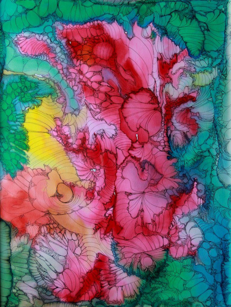 Transformation - Peinture - Isabelle Milléquant Surr