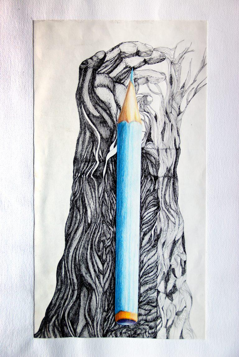 Crayon - Croquis - Isabelle Milléquant Surr