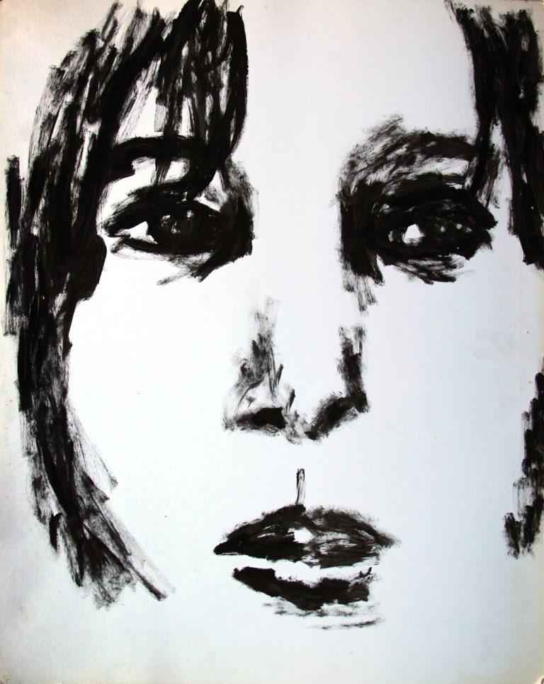 Portrait 2 - Croquis - Isabelle Milléquant Surr